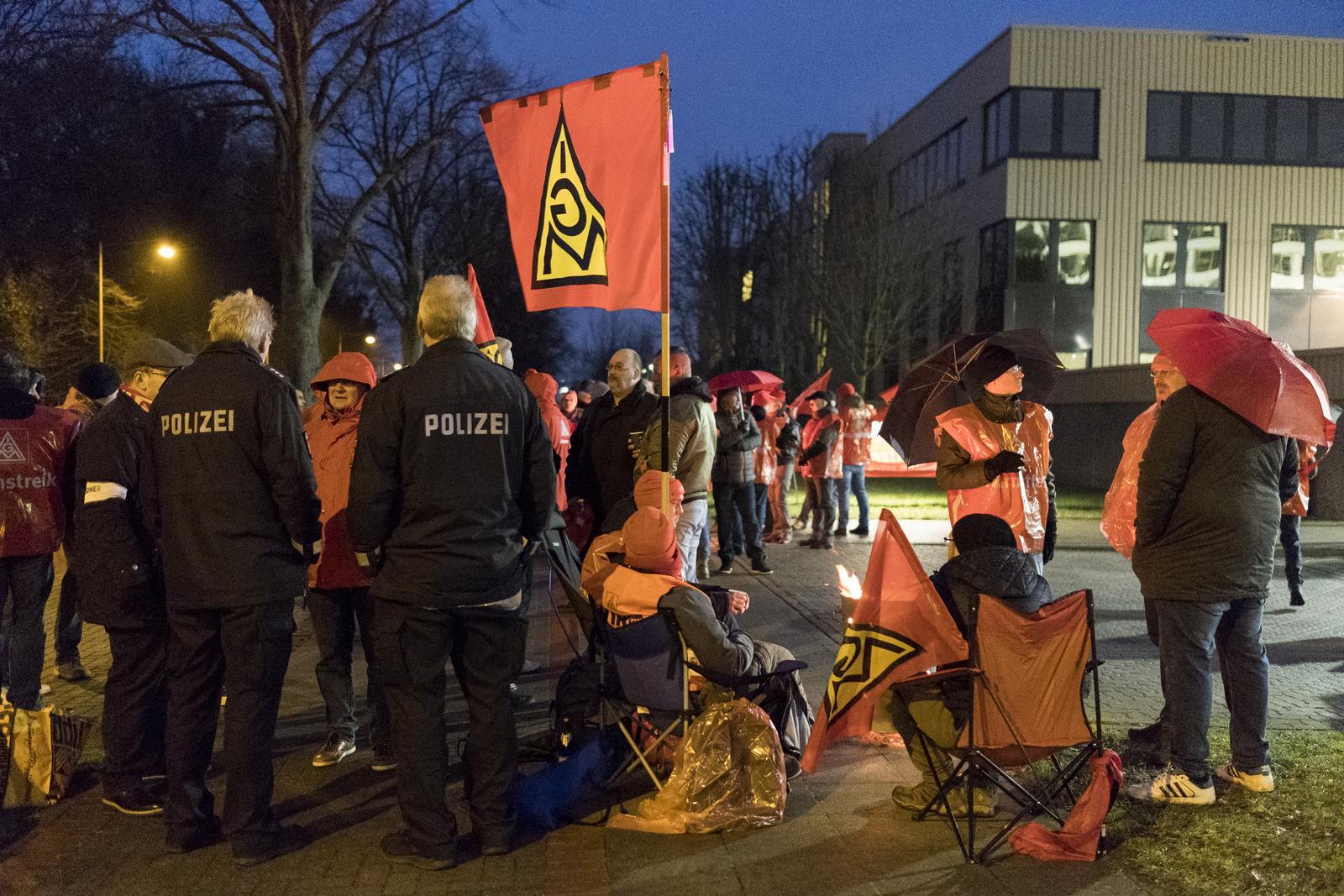 Warnstreik Hannover